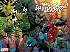 Amazing Spider-Man Vol 5 1 Wraparound