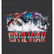 Civil War - Cuadro del Team Cap