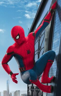 Spider-Man Homecoming Poster Crop