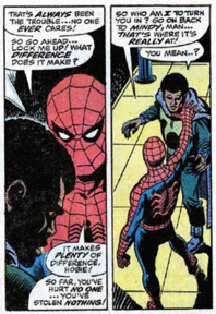 Prowler y Spider-Man