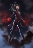Scarlet Witch Andy Pak CACW Concept
