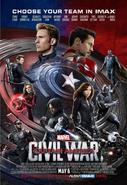 Civilwar imax poster
