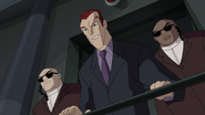 Norman Osborn junto a sus guardaespaldas - Survival of the Fittest