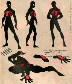 Boceto traje negro