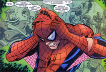 Recalling of Spider-Man Unlimited Counter-Earth's Lord Tyger, Lady Vermin, Knights of Wundagore, the High Evolutionary and Beastials (Webspinners-Tales-of-Spider-Man-Issue-13, February 2000)