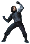 Civil War Winter Soldier Char art