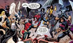 Dark X-Men vs X-Force