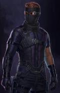 Hawkeye CW Costume Concept