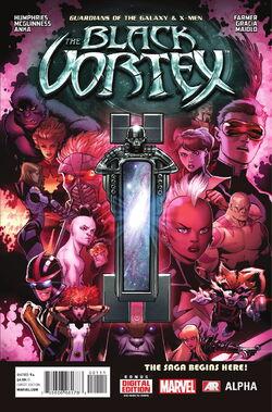 Guardians of the Galaxy & X-Men Black Vortex Alpha Vol. 1 -1