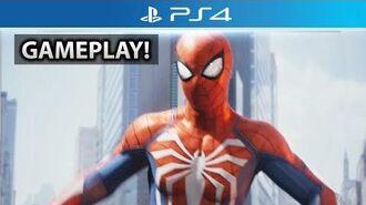 Spider-Man PS4 - NEW Open World Web Swinging Gameplay! (Developer Interview)