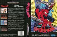 Spider-Man vs. The Kingpin Mega Drive Cover