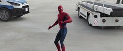 Spider-Man sorprendido