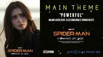 "Spider-Man 2 Coming of Age Main Theme ""Powerful"" Major Lazer (2019) Marvel Movie HD."
