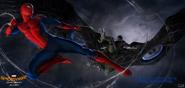 Spider-Man HC arte conceptual
