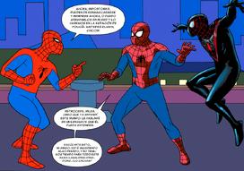 Spider-Man 67 con Miles y Peter