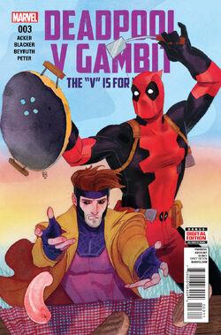 Deadpool v Gambit Vol. 1 -3
