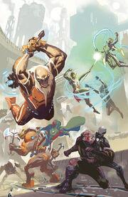 The Uncanny Avengers vs. the New-Men