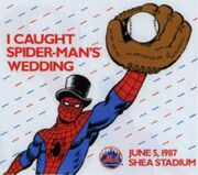 I caught Spider-Man's wedding