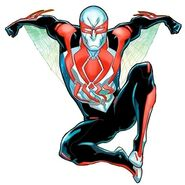 Spider-Man 2099 New Costume