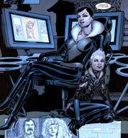 Anastasia Kravinoff (Earth-616) and Aleksandra Nikolaevna (Earth-616) from Amazing Spider-Man Vol 1 567 0001