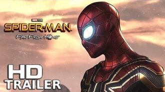 Spider-Man Far From Home - Teaser Trailer (2019) Tom Holland Concept HD