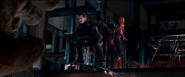 Spidey y Harry VS Venom y Flint