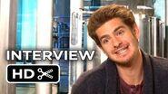 The Amazing Spider-Man 2 Interview - Andrew Garfield (2014)