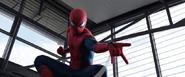 Spider-Man antes de lanzar telaraña