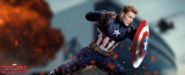 Civil War Captain America banner