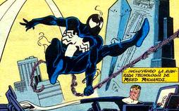 Simbionte unido a Spider-Man
