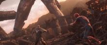 Spider-Man se enfrenta a Thanos - Avengers Infinity War