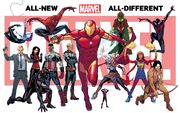 All-New, All-Different Marvel 001