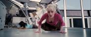 Gwen en un accidente