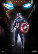 Civil War - Promo Cap Libertad