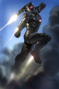 War Machine Mk3 Concept Art