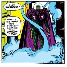 Mysterio's first appearance (ASM 13)