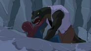 Spider Man y Lagarto peleando 4 - Natural Selection