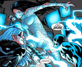 Silk vs Electro y Felicia