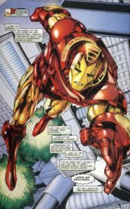 Nueva armadura de Tony