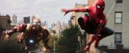 Spider-Man y Iron Man del MCU