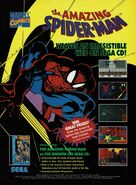 The Amazing Spider-Man vs. The Kingpin Sega CD ad