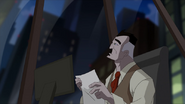 John Jonah Jameson en su oficina en una noche - Survival of the Fittest
