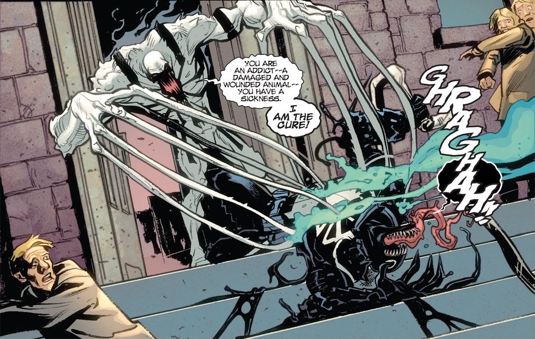 image anti venom vs venom jpg spider man wiki fandom powered