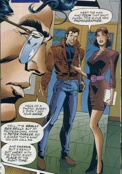 Ben Reilly conoce a Clark Kent