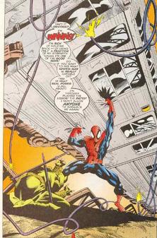 Spiderman fuerza