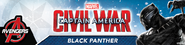 Black Panther Civil War Promocional
