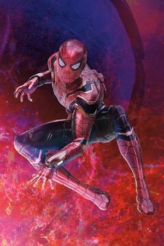 Peter Parker (Earth-199999) from Avengers Infinity War poster 009 001