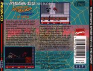 Spider-Man vs. The Kingpin Mega CD Back
