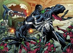 Venom vs skrulls