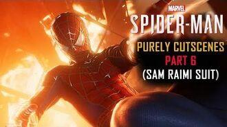 Spider-Man PS4 Part 6 Sam Raimi Suit(PURELY CUTSCENES)(Sinister Six,RAFT Escape)
